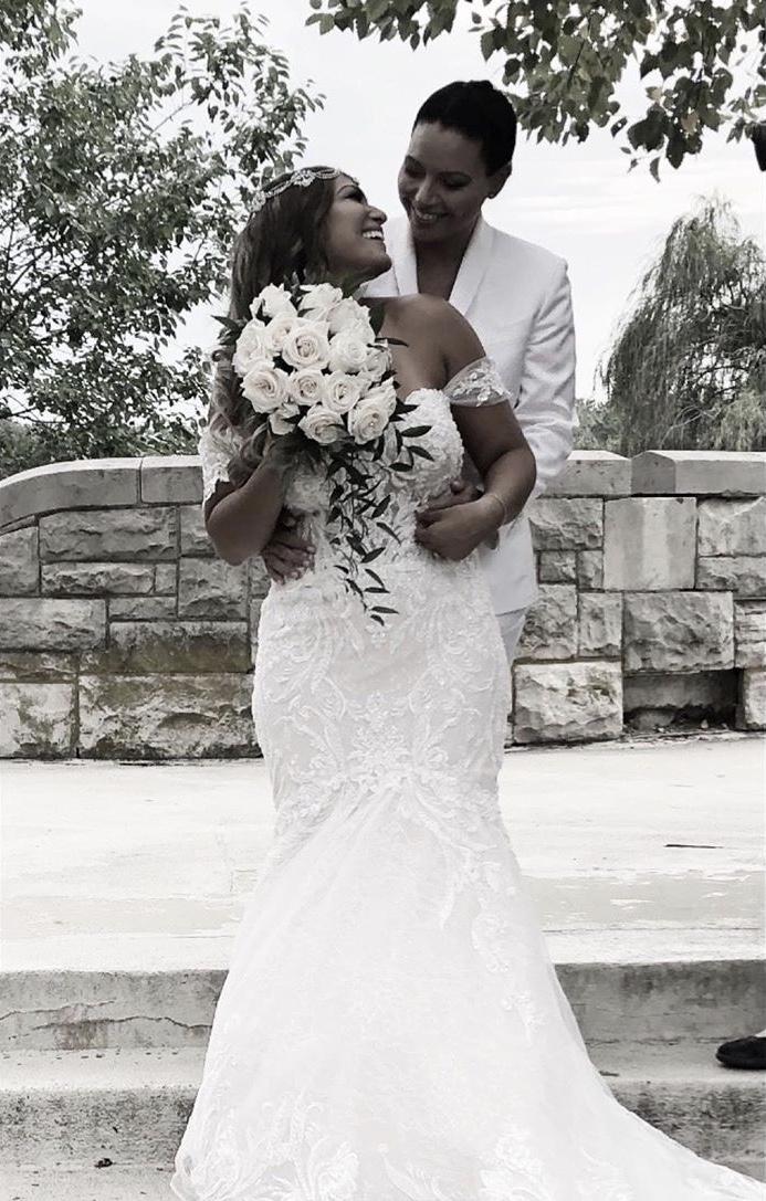 lesbian's wedding