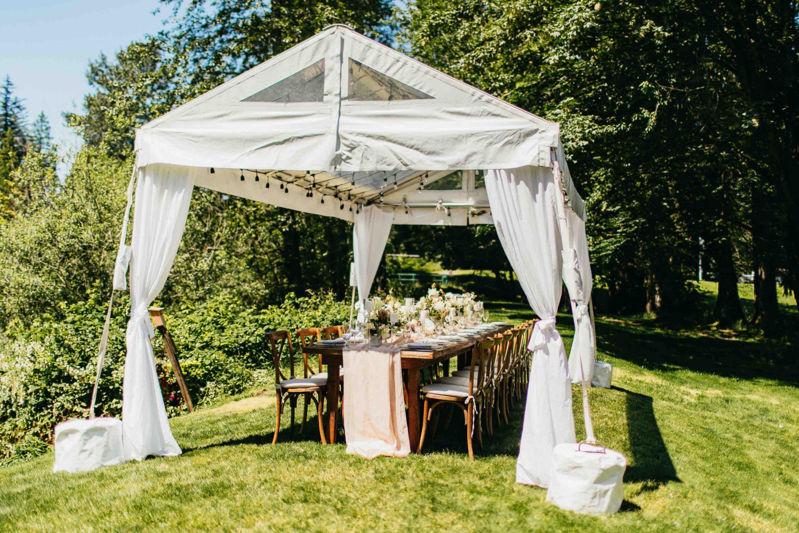 Moon River Suites Wedding Venue reception area