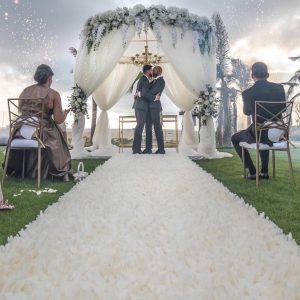 two gays wedding