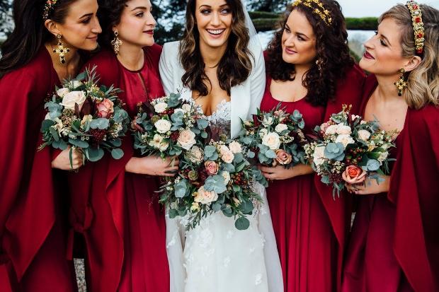 wedding theme bordo