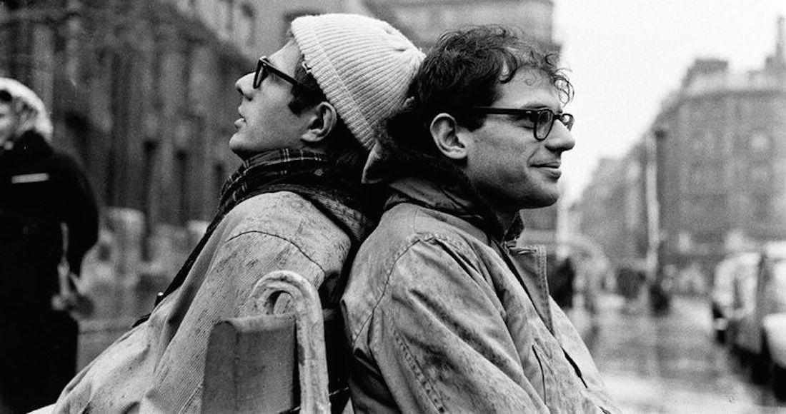 ALLEN GINSBERG AND PETER ORLOVSKY