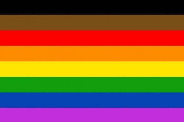 Philadelphia People of Color-Inclusive Flag